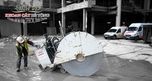 Dịch vụ khoan cắt bê tông tại Tphcm giá rẻ nhất uy tín nhất